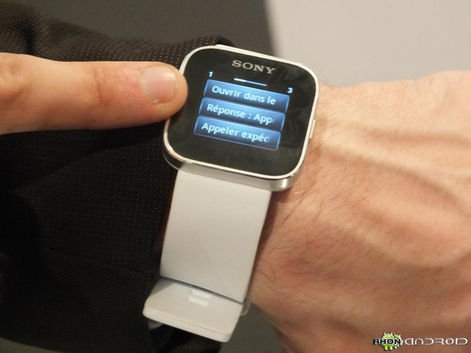 Affichage Smartwatch