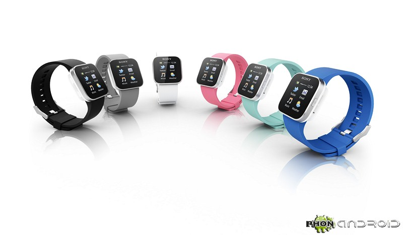 Smartwatch disponible en plusieurs couleurs