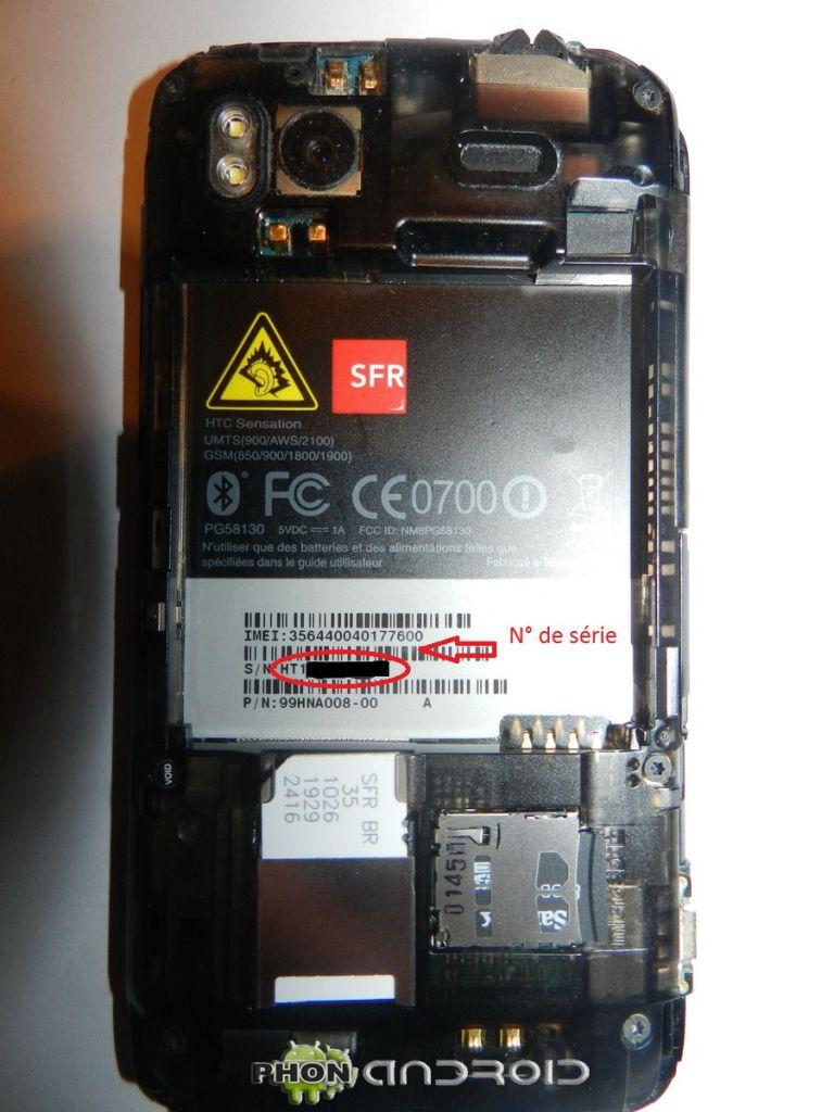 tuto HTC sensation n de serie1600x1200 768x1024 Tutoriel : Bien débuter avec son HTC Sensation, S Off, Root, Recovery, SuperCID.