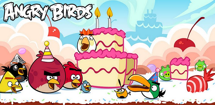 Angry Birds anniversaire
