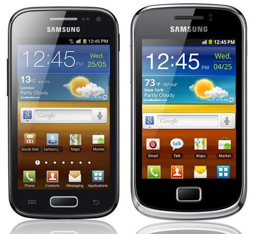 Galaxy Ace 2 Galaxy Mini 2