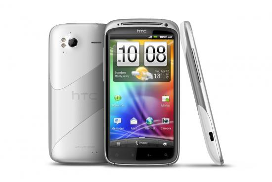 HTC Sensation blanc Android 4.0 ICS