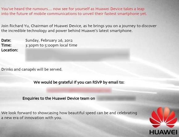 Huawei MWC 2012