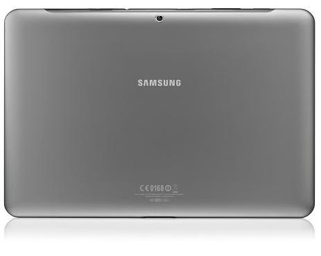 Samsung Galaxy Tab 2 10.1 back