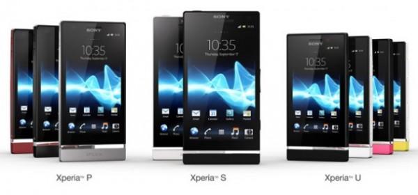 Sony Xperia 2012