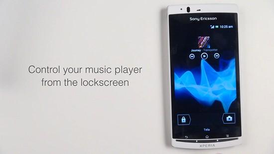 Android 4.0 ICS beta Sony