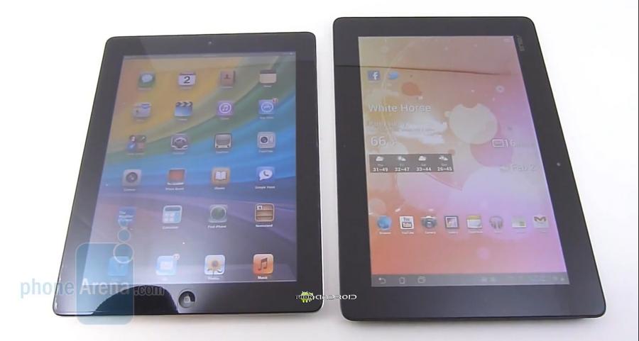 iPad 2 VS Transformer Prime