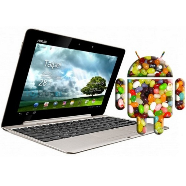 Asus et Android 5.0 Jelly Bean