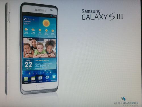 Galaxy S3 22 mai