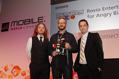 Global Mobile Awards - Angry Birds