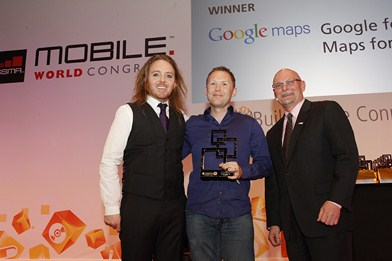 Global Mobile Awards - Google Maps