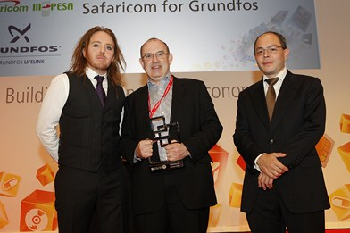 Global Mobile Awards - Safaricom for Grundfos