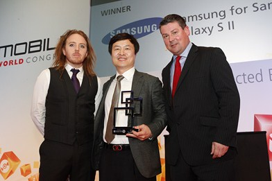 Global Mobile Awards - Samsung Galaxy S II
