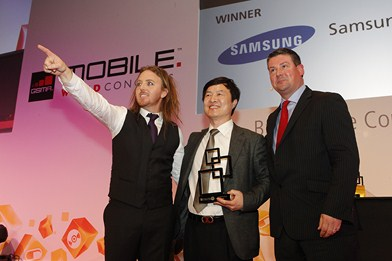 Global Mobile Awards - Samsung