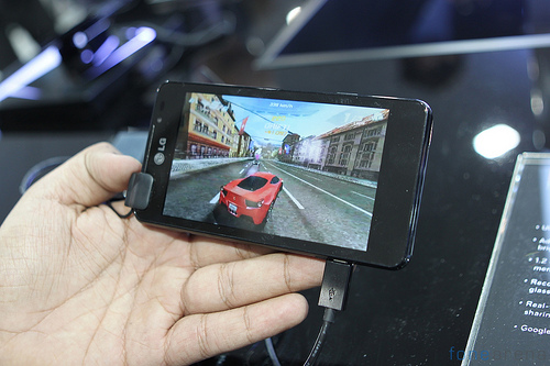 LG optimus 3D Max Gameloft