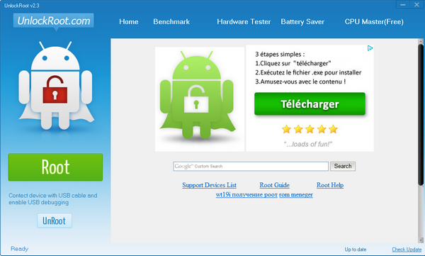 unlock root 2.3.0 gratuit