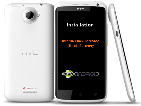 CWM Recovery HTC One X TUTO : Installer le CWM Touch Recovery sur HTC One X