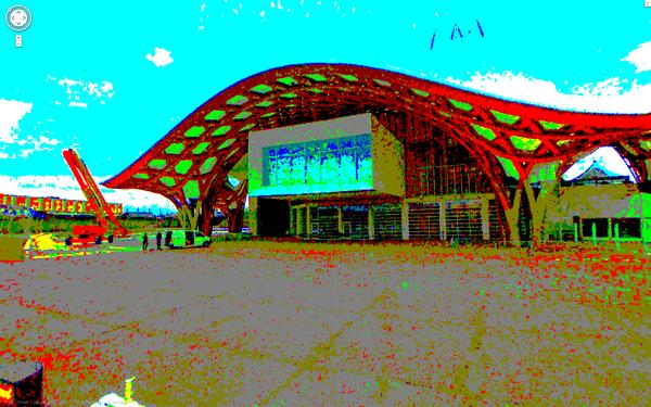 Centre Pompidou - METZ - Maps 8bits