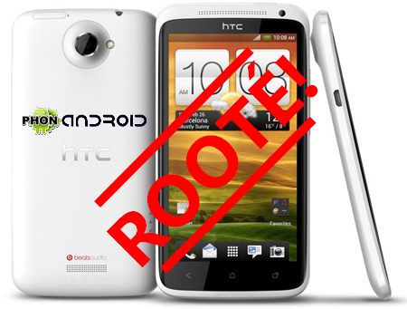 Root HTC One X TUTO : rooter son HTC One X