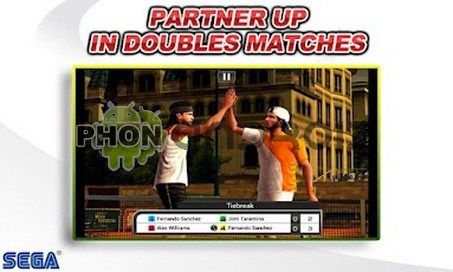 Virtua Tennis challenge Mode double