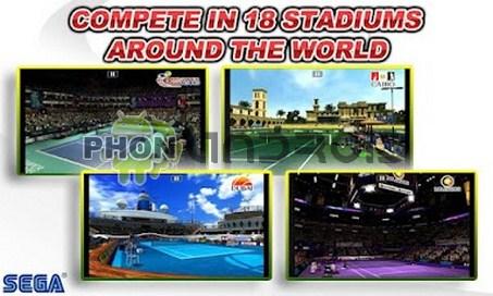 Virtua Tennis challenge stade