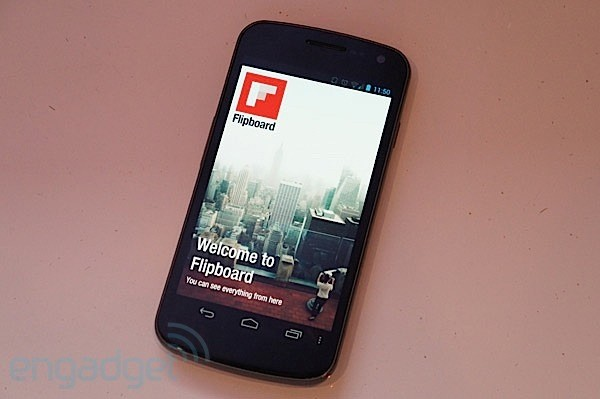 Flipboard sur Android