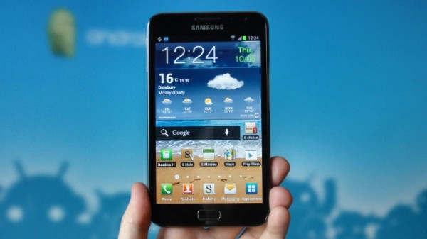 Galaxy Note ICS