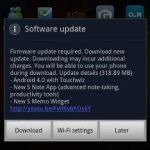 Galaxy Note Android 4.0