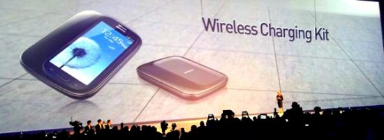 Galaxy S3 chargeur sans fil