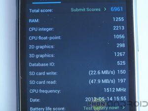 AnTuTu HTC One S
