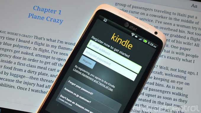Amazon Kindle pour Android