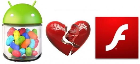Android et Flash divorcent