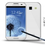 Galaxy Note II concept