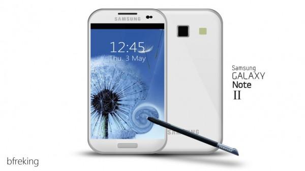 Galaxy Note II concept
