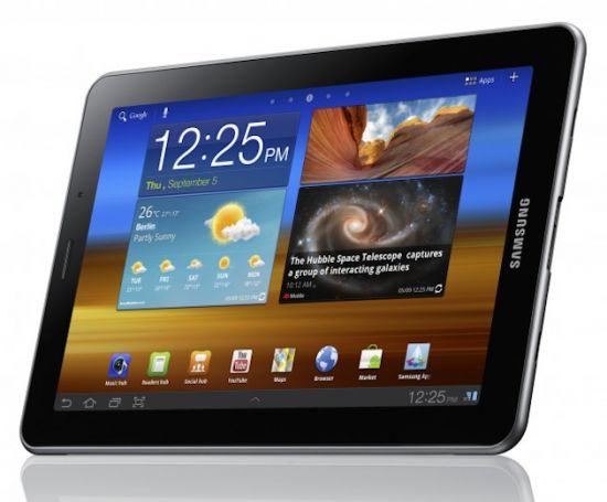 Galaxy Tab ICS