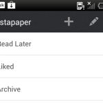 Instapaper maintenant disponible sur le Google Play