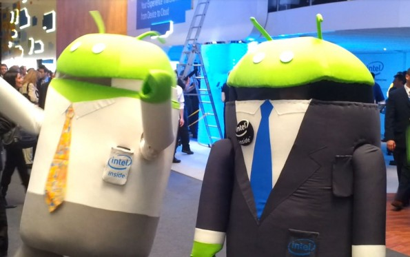 Intel et Android