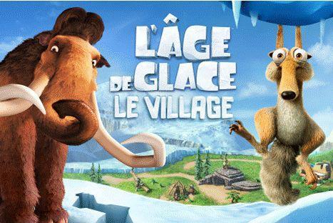 L'age de glace le village