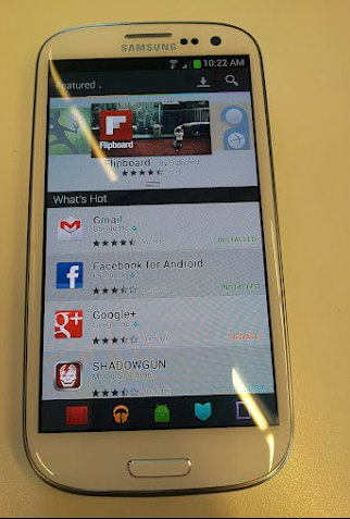 Nouvelle interface du Google Play Store avec Android Jelly Bean