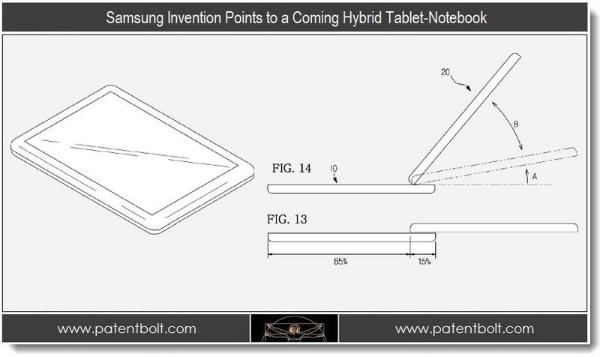Samsung tablette notebook