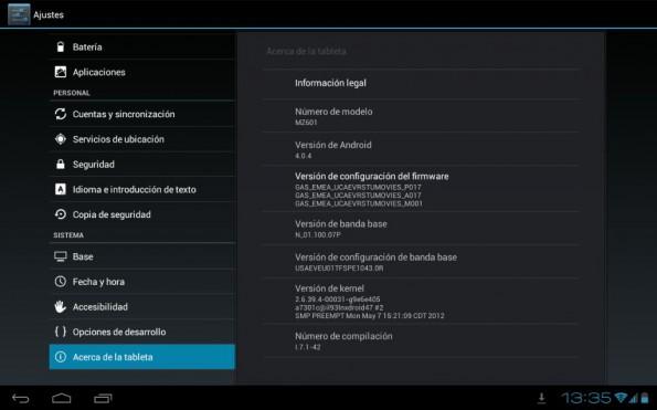 XOOM 3G - 4.0.4 - Motorola