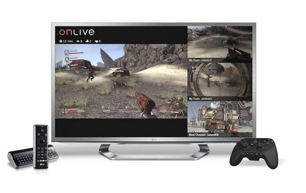 OnLIve sur Google TV