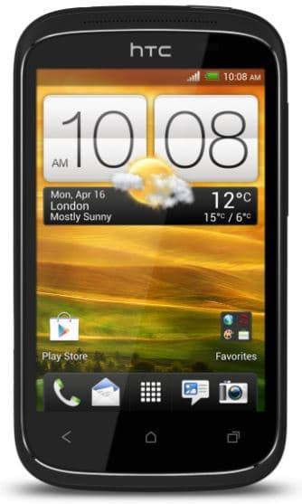 Prise en main du HTC Desire C