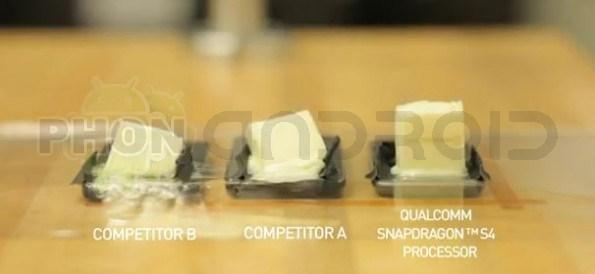 Qualcomm S4 fondre beurre