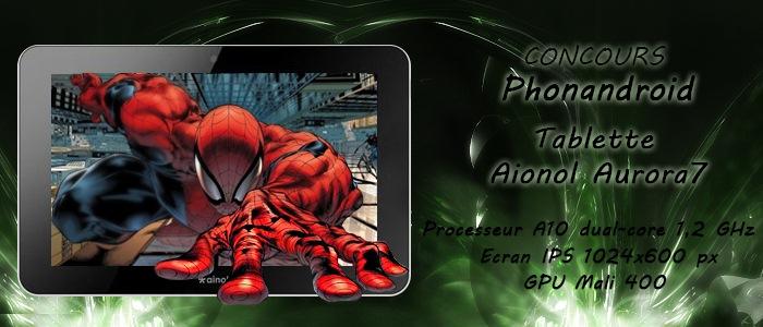 Concours Phonandroid  Gagnez une tablette