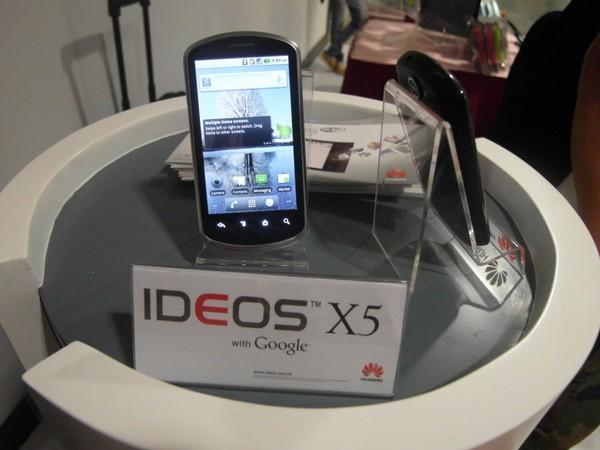 Huawei Ideos X5 - Téléchargement firmware