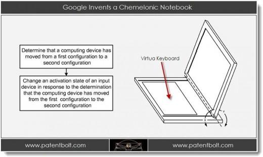 Le futur d'Android et Chrome OS dans un brevet Google