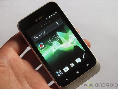 Sony Xperia Tipo : prise en main vidéo
