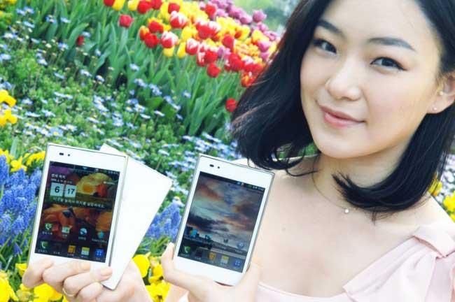 Un LG Optimus Vu 2 pour contrer le Galaxy Note 2