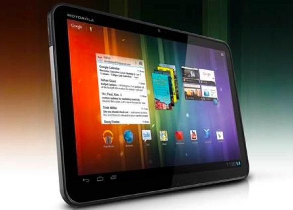 Motorola Xoom 3G sous ICS